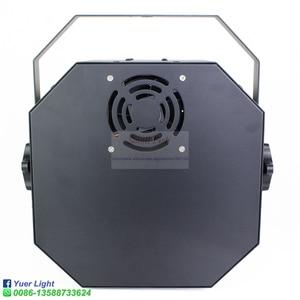 Image 5 - مصباح LED قرصي 120 واط شعاع ستروب ليزر UV 4IN1 متنوعة تأثير ضوء الصوت المنشط DMX512 حفلة DJ مرحلة الزفاف عيد الميلاد مصباح