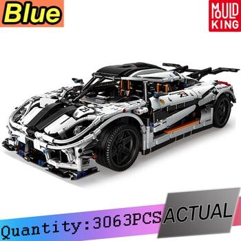 Compatible Lepining 23002 Technic MOC-10574 Koenigseggs Sports Racing Car Model Kit Building Blocks Bricks Toys For Boys Gifts