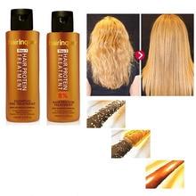 ZHENDUO 3.7% Brazilian keratin conditioner shampoo Hair Care Set Smoothing Treatment for Frizz and Damaged Hair