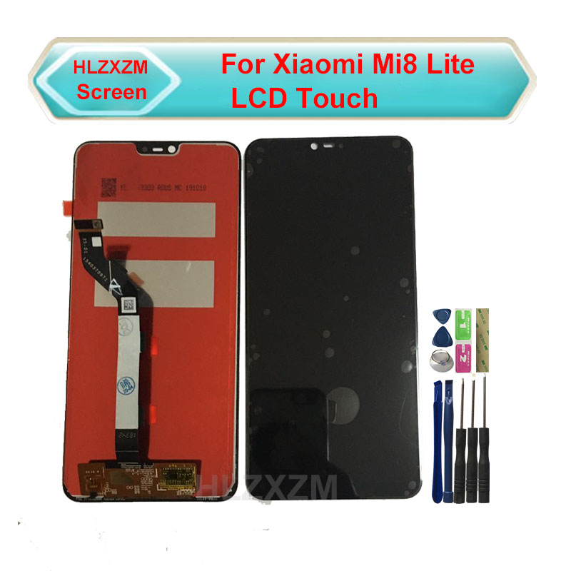 LCD For <font><b>Xiaomi</b></font> <font><b>Mi</b></font> <font><b>8</b></font> Lite/ <font><b>Mi</b></font> 8X LCD <font><b>Display</b></font> Screen Touch Digitizer Assembly LCD <font><b>Display</b></font> Touch Screen Repair Parts 6.26'' image
