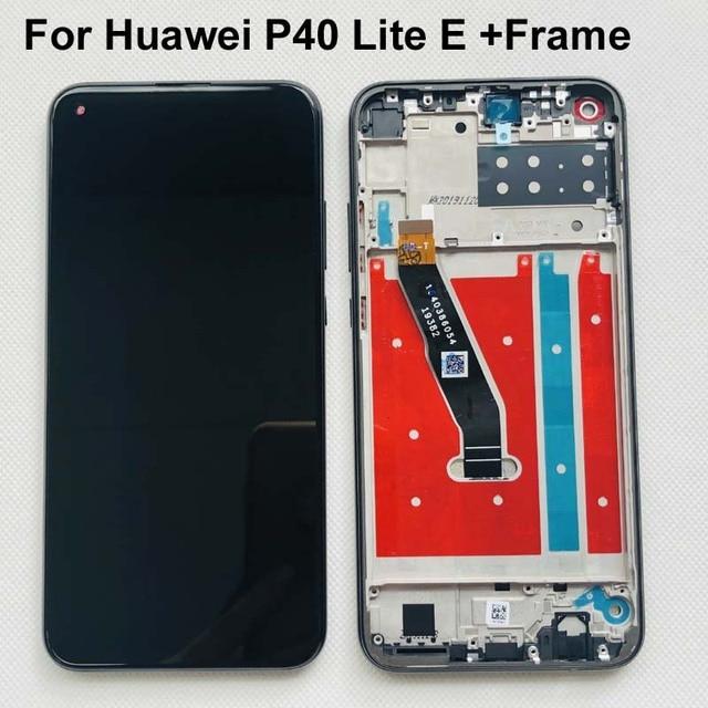 الأصلي لهواوي P40 لايت E ART L29 / Y7p 2020 ART L28 الكامل LCD شاشة عرض تعمل باللمس محول الأرقام الجمعية استبدال + إطار