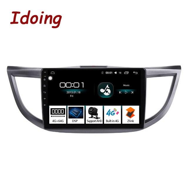 Idoing автомобильный мультимедийный плеер на Android, экран 10,2 дюйма, 4 Гб + 64 ГБ