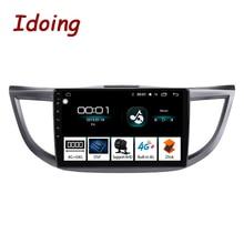 Idoing Radio Multimedia con GPS para coche, Radio con reproductor, pantalla IPS 2.5D, 10,2 pulgadas, 4 GB + 64 GB, 8 núcleos, Android, para Honda CRV CR V, 2006 2012