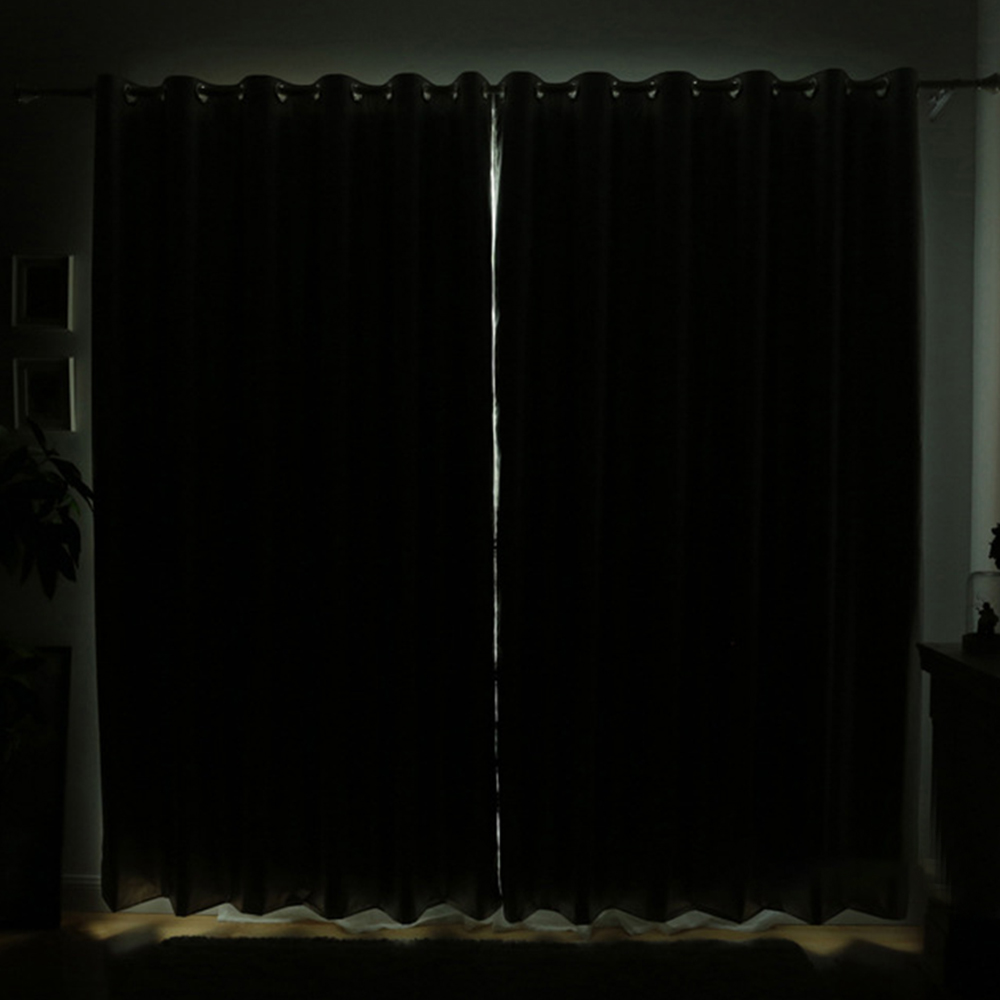 Living Room Sun Block Curtain Shade Bedroom Insulation Blackout Curtains