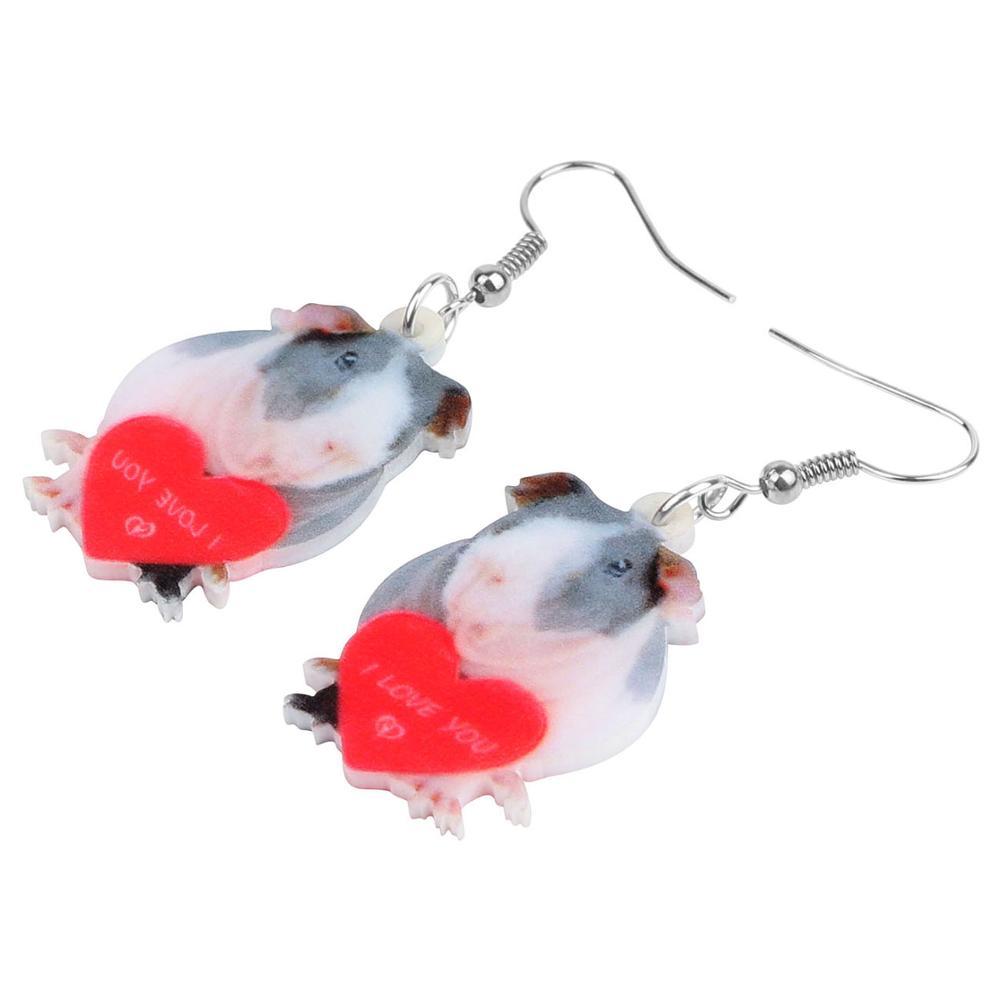 Heart Mouse Earrings 2