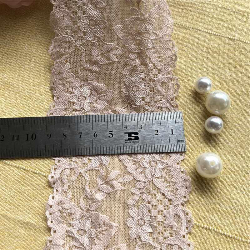 9cm S1469 yumuşak ve zarif dantel kumaş süsü şeritler diy dikiş konfeksiyon düğün dekorasyon aksesuarları malzemeleri pembe dantel trimmin