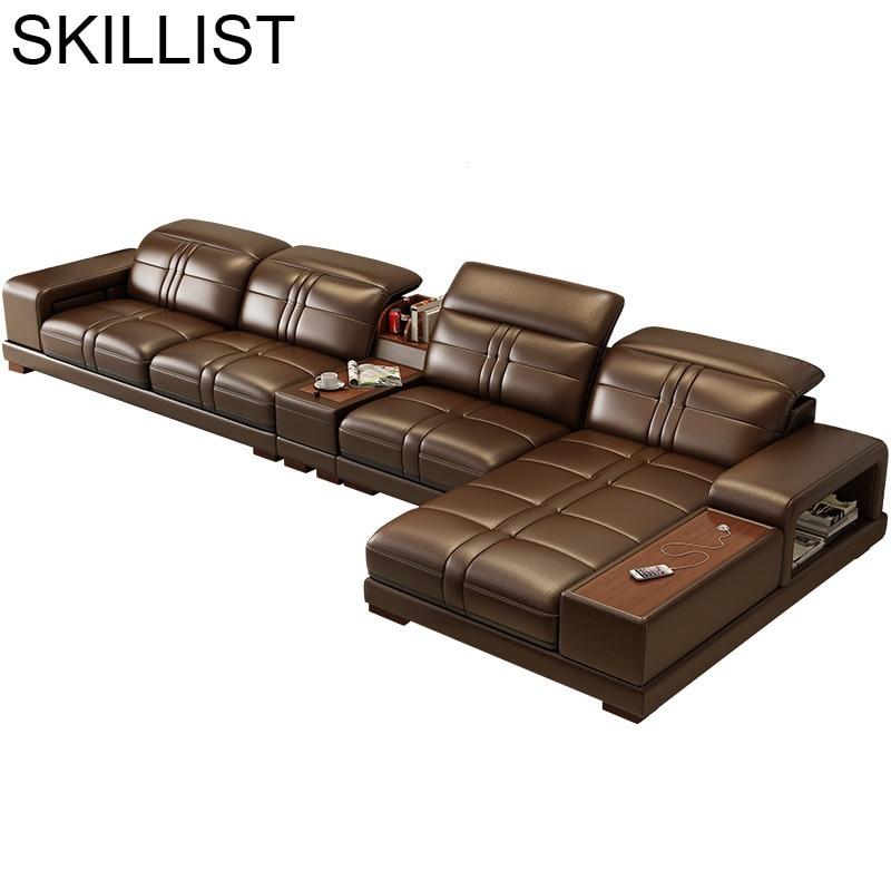 Meble Do Salonu Koltuk Takimi Pouf Moderne Meuble Maison Fotel Wypoczynkowy Leather Furniture Mobilya Mueble De Sala Sofa