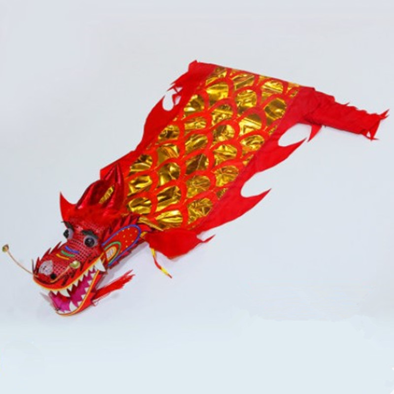 By EMS Chinese Style Dragon Dance Supplies Festival National Performance Carnival Dance Prop