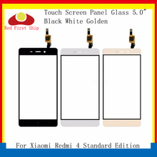 10Pcs/lot Touch Screen For Xiaomi Redmi 4 Standard Edition Panel Digitizer Sensor Front LCD Glass Lens Touchscreen