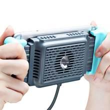Telefone móvel cooler handheld do semicondutor telefone ventilador de refrigeração dissipador de calor apropriado para a transmissão ao vivo do jogo do telefone etc.