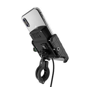 Image 3 - Étanche 12V moto téléphone Qi charge rapide sans fil chargeur support support support de montage pour iPhone Xs MAX XR X 8 Samsung