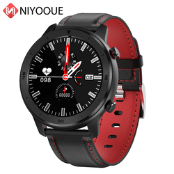 NIYOQUE DT78 Smartwatch Bluetooth 4.2 urządzenia przenośne Smartwatch monitorujący tętno tlenu we krwi ciśnienie Sport zegarek dla iOS Android
