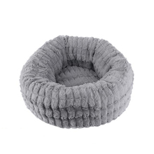 Fluffy Plush Pet Cat Bed Cot Deep Sleeping Washable Cat House Lounger Sofa for Small Cats Breathable Kitten Mat Cushions fluffy friends kitten sticker