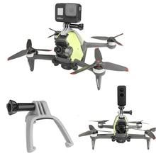 Câmera suporte superior gopro sports action camera adaptador de montagem braçadeira fix kit expansão lanterna para dji fpv acessórios