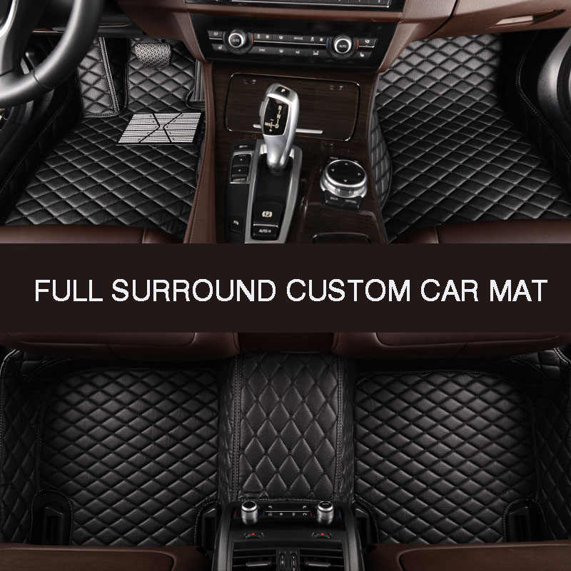 Hlfntf Volledige Surround Custom Auto Vloer Mat Voor Honda Accord 2003-2007 Civic Crv 2008 Cr-V Jazz fit Stad 2008 Auto Accessoires
