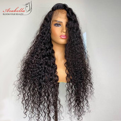 Deep Wave Wig 100% Human Hair Remy Lace Front Human Hair Wigs Pre Plucked With Baby Hair For Black Women Arabella Deep Wave Wig