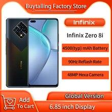 100% Original Infinix Zero 8i Global Version MobilePhone 6.85 inch 90Hz Helio G90T Octa Core 8GB 128GB 33W Super Charge