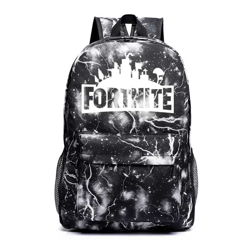 Fortnite Game Mobilefortress Night Luminous School Bag Men And Women Backpack Teenager Campus Backpack Fashion Stylish