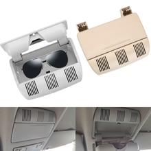 แว่นตารถแว่นตากันแดดหลังคากล่องแว่นตากันแดดคลิปสำหรับ Skoda Octavia Fabia Roomster 1Z0868565E รถอุปกรณ์เสริม