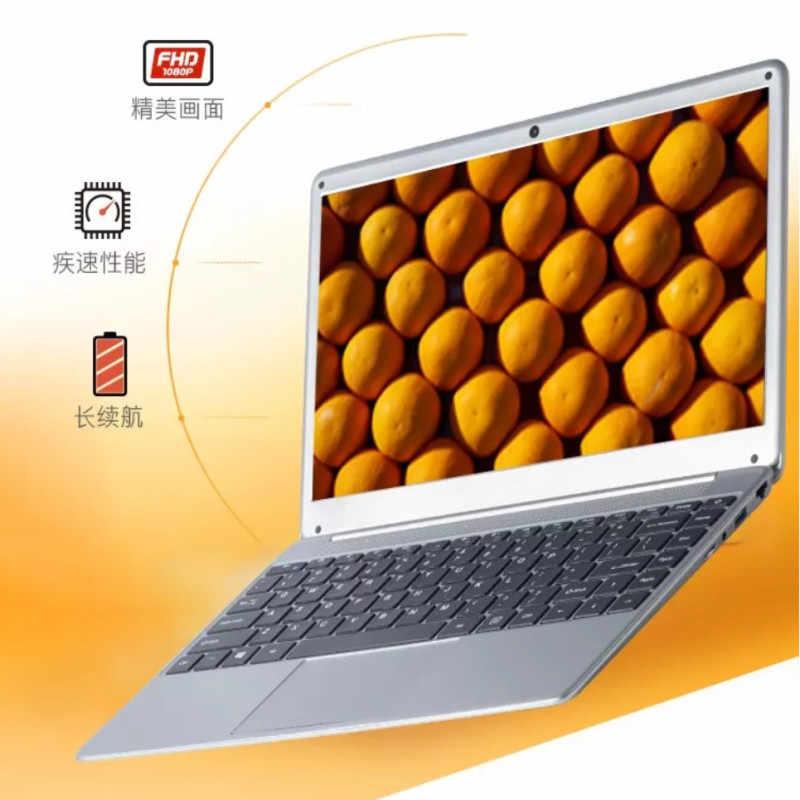"""حاسوب محمول 14.1 """"1366X768P ultrabook حاسوب إنتل N3520 رباعي النواة 2.16GHz 4G RAM + 120G SSD واي فاي ويندوز 7 حاسوب محمول"""
