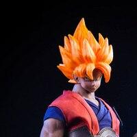 Tronzo VSTOYS 1/6 Goku Action Figure 19XG41 Goku Custom Headsculpt Clothes Accessories Set Suit For PHICEN TBLeague M33 Body