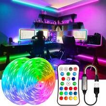 5V USB Led Strips Lights WS2811Dream 5M 10M 15M 20M Lighting DC 5V RGB Led Diode Ribbon Lamp For TV BackLight Decoration Bedroom