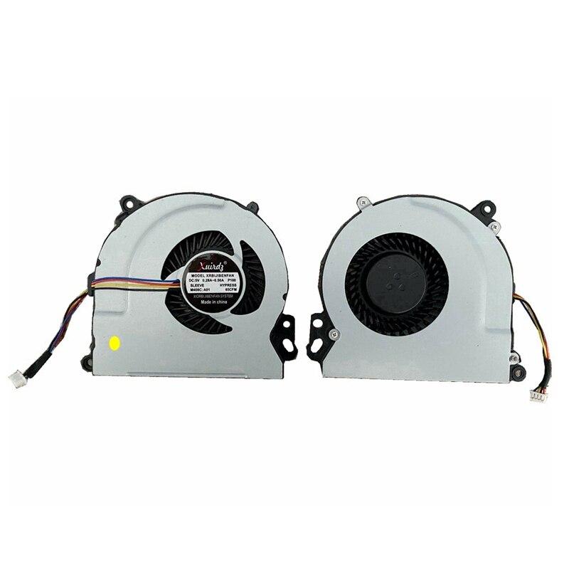 Laptop Fan FOR HP Envy 15 15-J 15-J000 ENVY15 M7 17-J Cpu Cooling Fan Cooler XRBIJIBENFAN