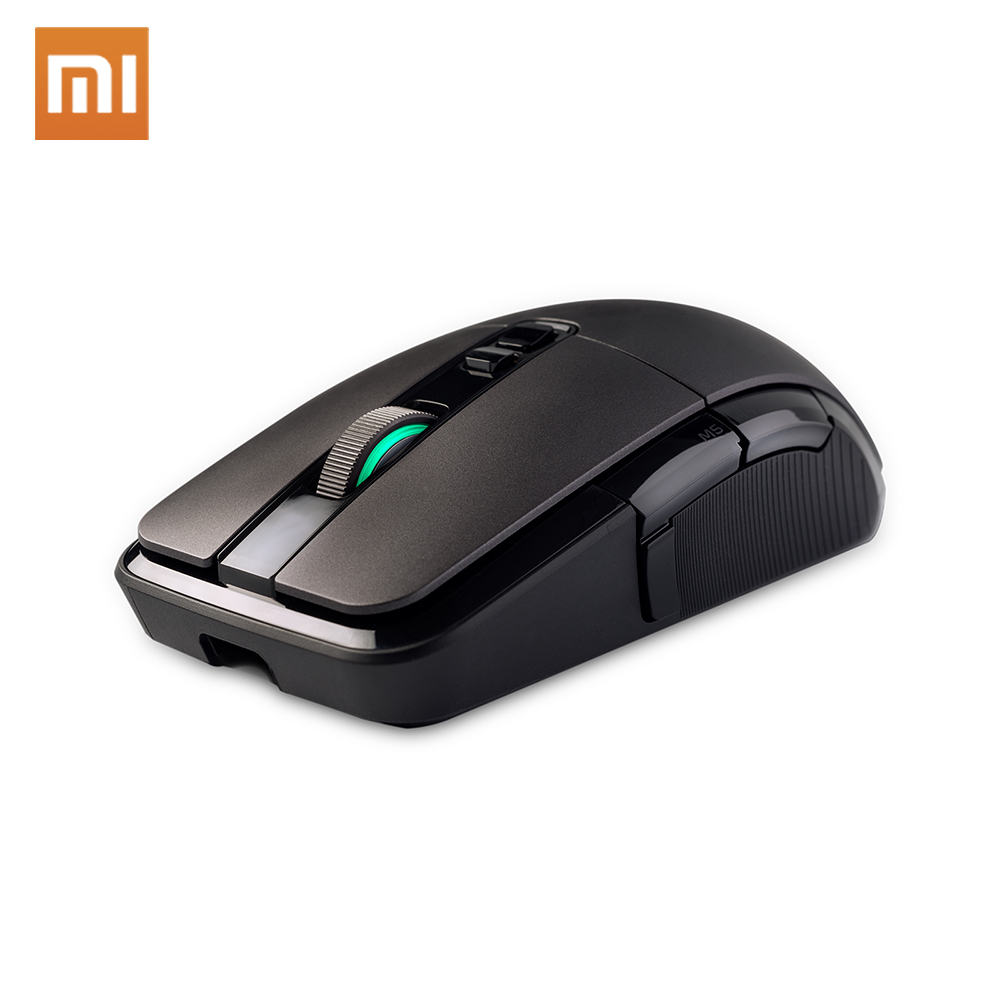 New Xiaomi Wireless Gaming Mouse <font><b>7200DPI</b></font> RGB Backlight 32-bit ARM USB 2.4GHz Game Optical Rechargeable Computer Mouse image