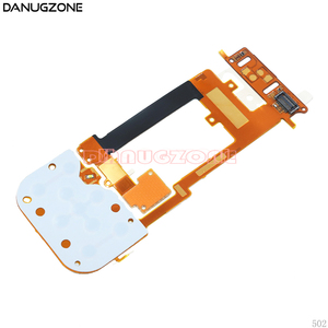 Image 3 - 10PCS/Lot For Nokia 2220 2220S LCD + Keyboard Button Board Keyboard Slide Flex Cable