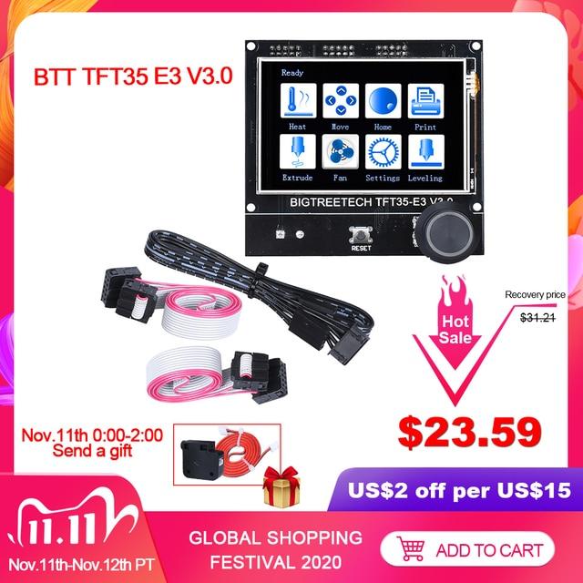 BIGTREETECH TFT35 E3 V3.0 Display Touch Screen 12864LCD Mode For 3D Printer Board SKR V1.3 MINI E3 PRO Ender3 Panel DIY WIFI MKS
