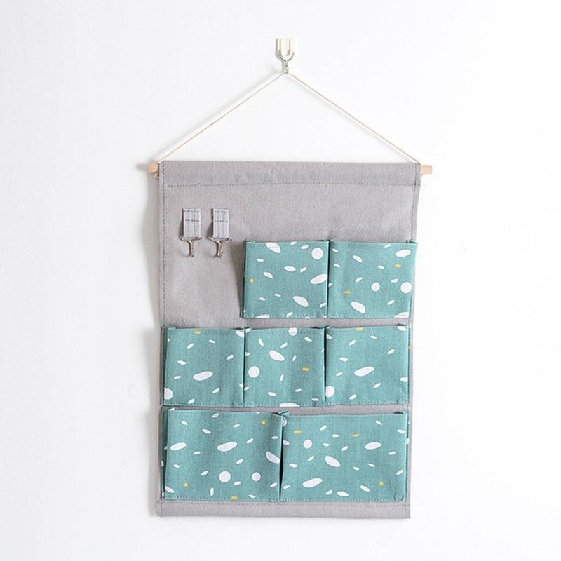 Carttoon настенная подвесная сумка для хранения в скандинавском стиле, органайзер для детской кроватки, декор для детской комнаты, детская игрушка, сумка для хранения подгузников, Домашний Органайзер - Цвет: 14