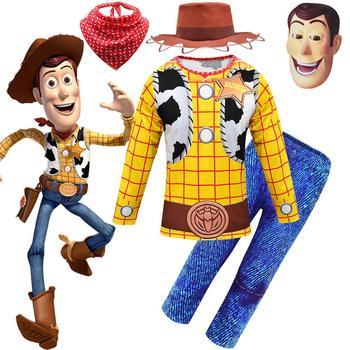 Costumi di Halloween legnose per ragazzi Cosplay abiti di carnevale set bambini bambini Costume da festa vestito da bambino per ragazzo 1