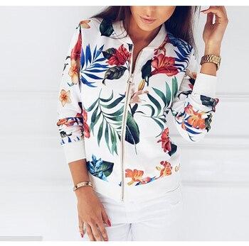 Retro Floral Printed Spring Jacket 23