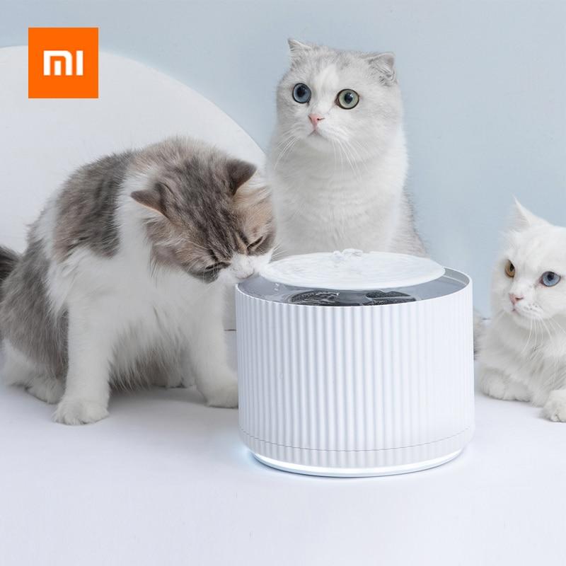 Xiaomi Smart Cat Pet Water Dispenser Water Purifier 1.88L 5 Layer Filter 360 Degree Open Drinking Tray Animal Drinking Fountain