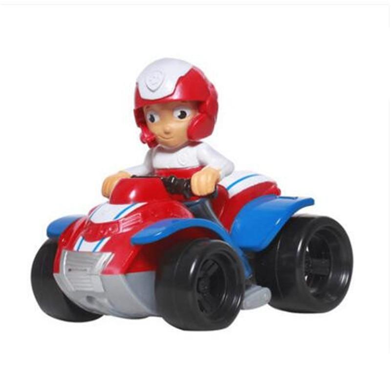Paw Patrol, набор игрушек, собака Patrulha Canina, аниме, фигурка автомобиля, фигурки, украшения, игрушки для детей, подарки на день рождения 2D32 - Цвет: 1 no box
