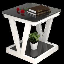 Простой мини-малого размера для гостиной, квадратный типа чайный столик, несколько углов диван-кровать