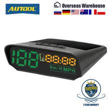 AUTOOL X100 GPS 속도계 오래 된 자동차 헤드 디스플레이 다기능 디지털 속도 고도 미터 비 OBD 자동차 전자 HUD