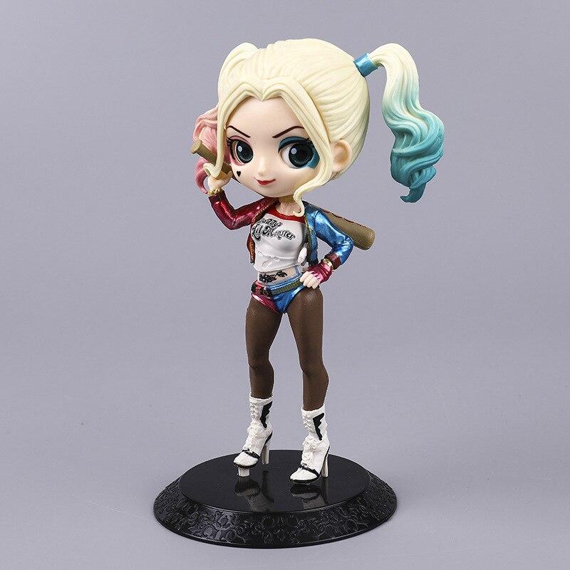 Harley Quinn Figura Acción Muñeca De Pvc Modelo suicidio escuadrón Juguete Modelo 16cm Nuevo