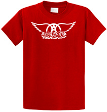 Low Price Tees Short Sleeve Top O-Neck Aerosmith Logo T Shirt For Men