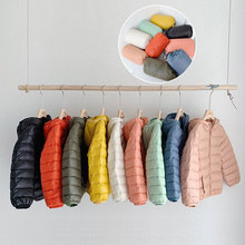 2 6 8 11 Years Winter Light Duck Down Coat Parka Kids Jacket For Girls Boys Hood Children Jacket Spring Fall Toddler Outerwear children duck down jacket for boys teenager outerwear hooded girls winter coat thick kids snowsuits long parka 3 6 10 years