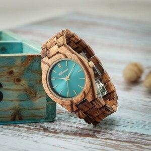 Image 3 - Shifenmei S5563 femme montres montre de mode 2019 bois décontracté pour femmes dames montre à Quartz bracelet en bois complet