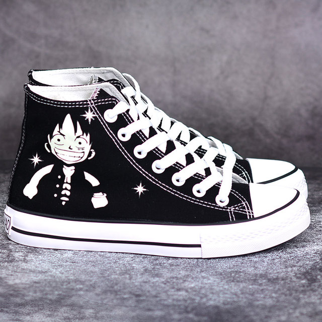 LUFFY HIGH TOP SHOES