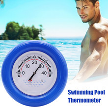 Swimming Pool SPA Floating Thermometer Water Temperature Gauge Dial Meter Device Floating Temperature Display Plate Water