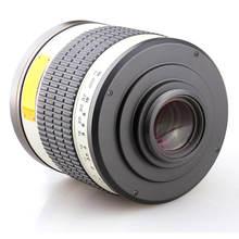 Jintu 500 мм f/63 руководство телеобъектив для цифровой однообъективной