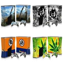 Top Kwaliteit Stickers Vinyl Skins Voor Microsoft Xbox 360 Slim Sticker Controller En Console Beschermende Skins
