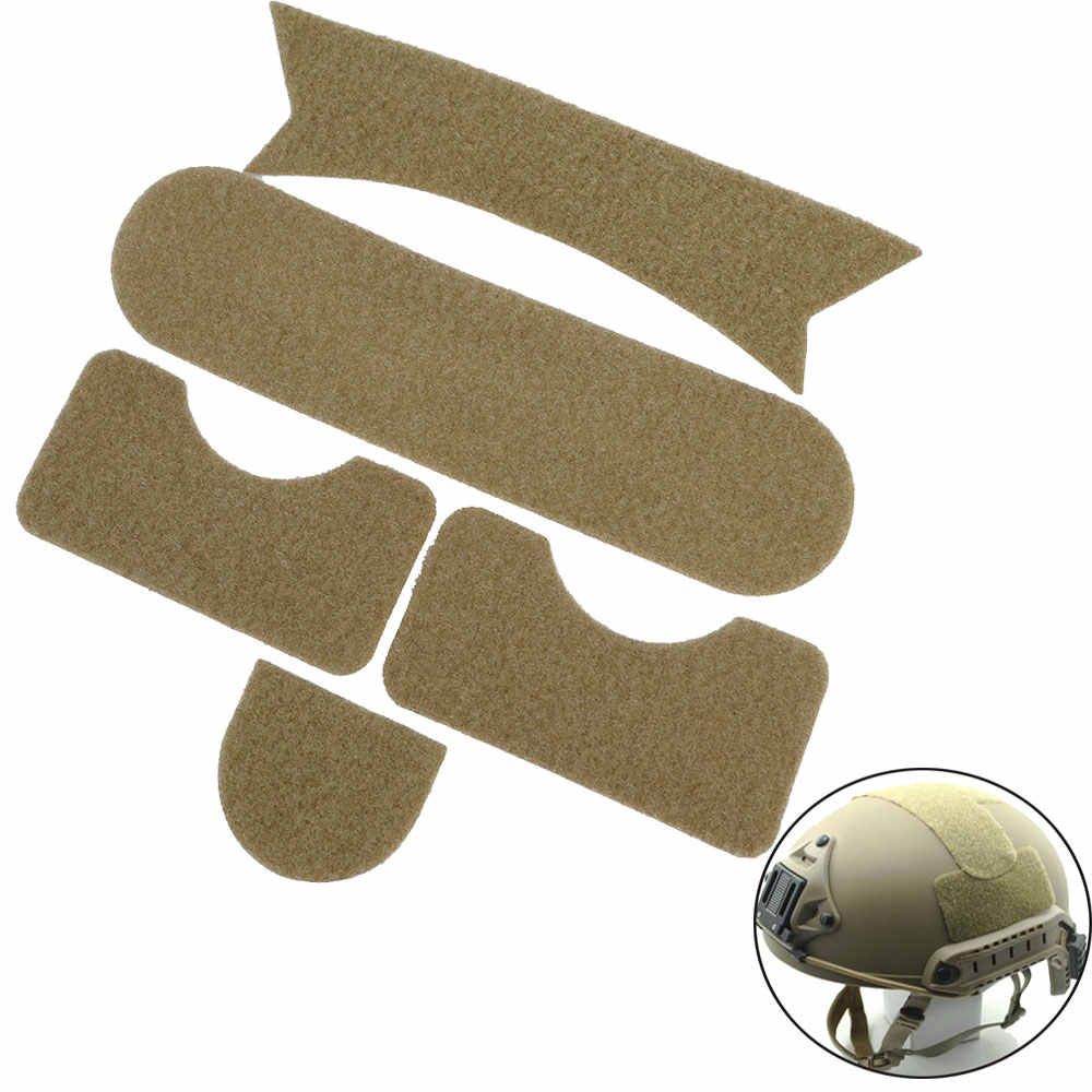 TB-FMA DIY Magic Tape Sticker for MH Style Fast Ballistic Helmets Airsoft Tactical Helmet Accessories