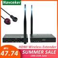 Беспроводной удлинитель HDMI 2020 5 ГГц  поддержка IR HDMI  беспроводной передатчик  ресивер  HD 1080P  Wi-Fi  HDMI передатчик