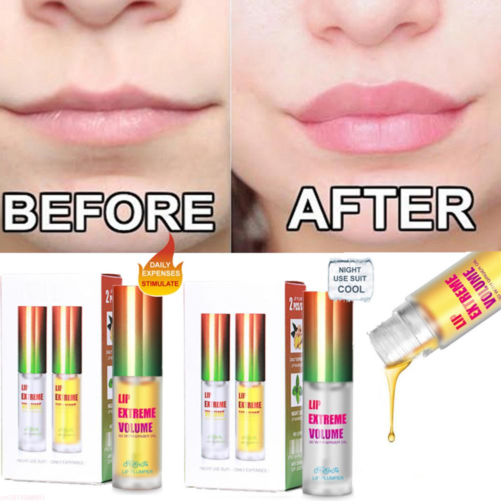 Hot Lip Plumper Collagen Lip Plumping Gloss Moisturizer Repair Lip Extreme Volume Essence Lips Enhancer Cosmetics 2019 Hot