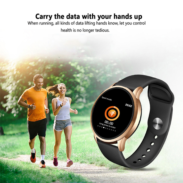 New 2020 Fashionable Smart Watch for Women LED Touch Screen 4