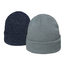 Berretti per adulti notte riflettente autunno inverno cappello a cuffia moda cappelli lavorati a maglia caldi di alta qualità Шапка Женская